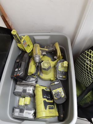 Ryobi 18v power tools for Sale in Oakland, CA