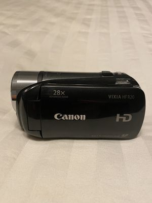 Canon video camera for Sale in Fresno, CA