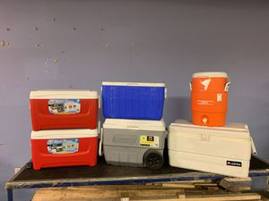 Igloo Coleman coolers for Sale in Buffalo, NY