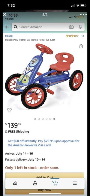 Kid pedal go cart for Sale in Douglasville, GA