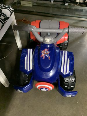Captain America ride on car for Sale in Cerritos, CA