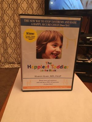 DVD the happiest toddler on the block for Sale in Fairfax, VA