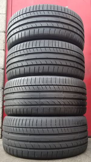 235/35/19 & 255/35/19 Continental Tires (90-95%) ▪INSTALLED▪ for Sale in Beverly Hills, CA