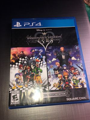 PS4 Kingdom Hearts HD 1.5 + 2.5 ReMIX *Remastered in high definition* for Sale in Boston, MA