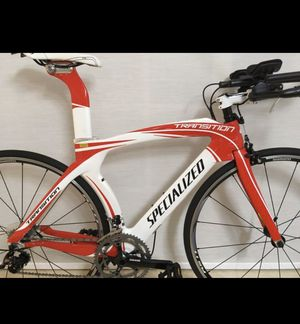 NEW 2011 SPECIALIZED TRANSITION PRO TRIATHLON BIKE CARBON FRAME SIZE SMALL for Sale in Hialeah, FL