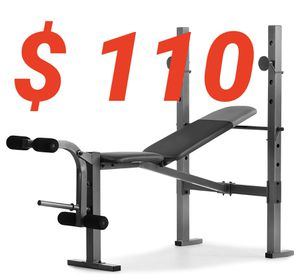 Weider Bench and Rack Combo for Sale in Chino Hills, CA