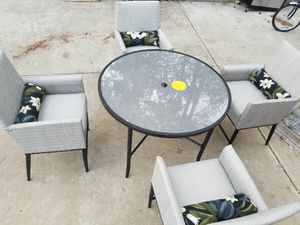New NEVER USED patio furniture set for Sale in Ellenwood, GA