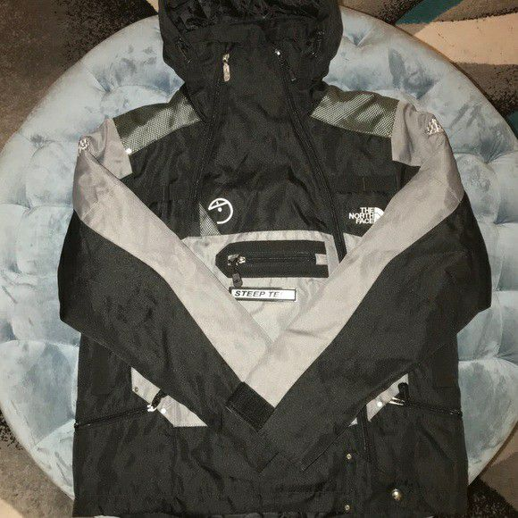 North face winter jacket steep tech style