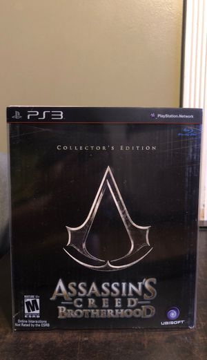 PS3 Assassin's Creed Brotherhood Collector's Edition for Sale in Pomona, CA