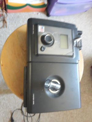 Cpap machine with carry case, masks, hoses and directions for Sale in Lodi, CA