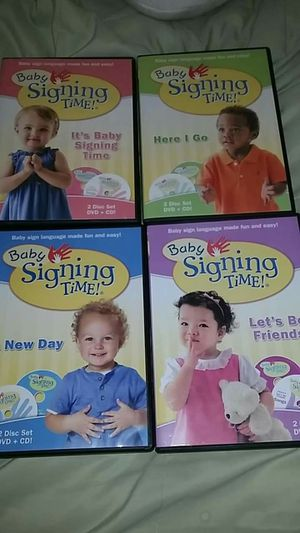 Baby Signing Time Dvds for Sale in Sun City West, AZ
