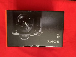 New Sony Alpha A7 II 24.3MP Digital Camera - Black (Kit with 28-70mm Zoom Lens) for Sale in Glendora, CA