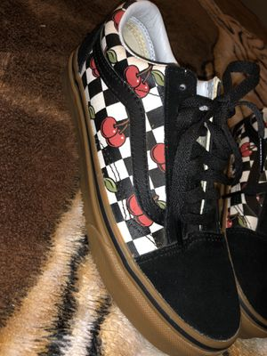 Old school cherry checker vans /Puo for Sale in Fresno, CA