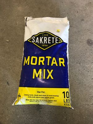 Mortar mix 10 Ib (10 bags) for Sale in Chocowinity, NC