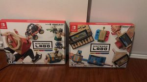 Nintendo labo for Sale in Baldwin Park, CA