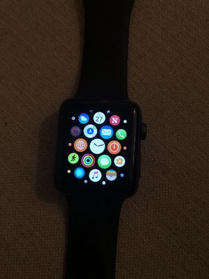 Apple Watch series 3 42mm Space grey aluminum for Sale in Odenton, MD