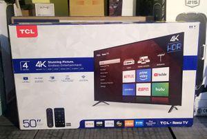 "50"" TCL smart TV. 4K. Brand New for Sale in Miami, FL"