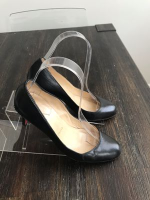 Christian Louboutin Black Heels Red Bottoms Size 37. Condition is Pre-owned. See pictures ask questions and make an offer! for Sale in Queens, NY