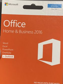 Microsoft Office 2016 Home and Business for Sale in Effort,  PA