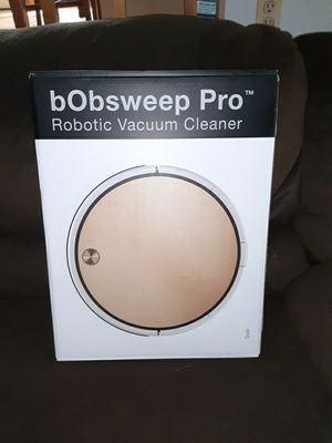bObSweep Pro Robotic Vacuum for Sale in Littleton, CO