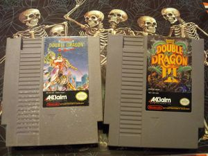 Double Dragon 2 & 3 - Nintendo NES for Sale in Vacaville, CA