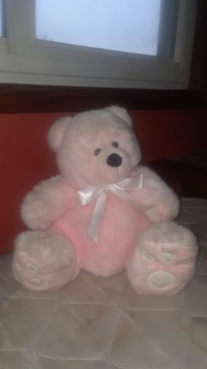 Pink teddy bear for Sale in Maplewood, MN