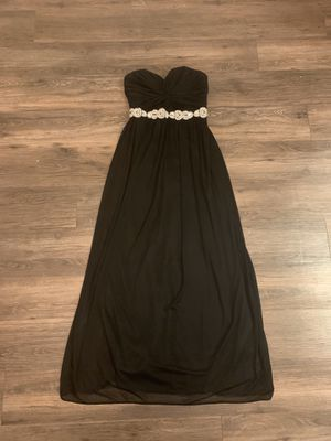 Strapless Black Beaded Prom Dress for Sale in Livermore, CA