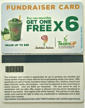 Jamba Juice Card for Sale in Sanger, CA