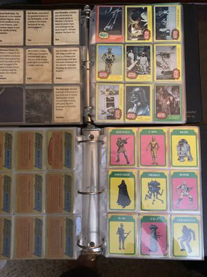 Vintage Star Wars Collectible Cards Topps / Lucasfilm 1977, 1980, 1983 🔥 for Sale in Pendleton, IN