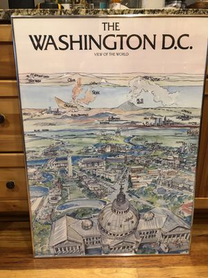 Washington DC framed pictures for Sale in Alexandria, VA