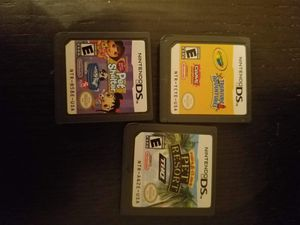 3 Nintendo ds games for Sale in Davenport, FL