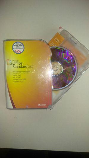 Microsoft Office Standard 2007 for Sale in Clovis, CA
