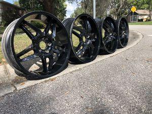 """20"""" black rims for Sale in Alafaya, FL"""