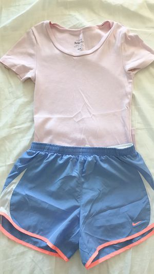 J crew 100%cotton + Nike dry-fit running short for Sale in Sunnyvale, CA