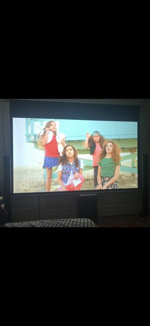 119' projector screen for Sale in South Orange, NJ