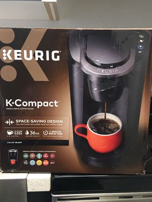 KEURIG K. Compact coffee maker NEW for Sale in Santa Ana, CA