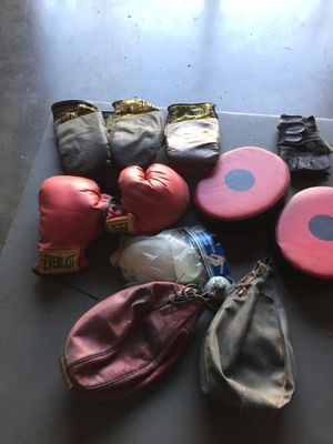 Boxing stuff for Sale in San Fernando, CA