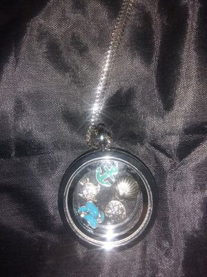 Nautical Charm Locket Necklace for Sale in Wichita, KS