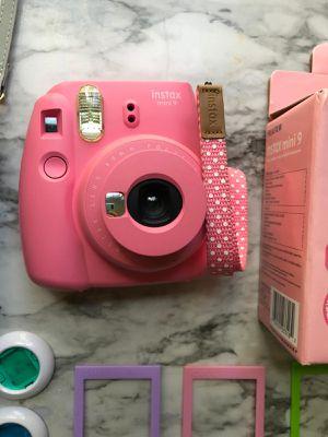Instax mini 9 Fujifilm camera and accessories for Sale in Tampa, FL