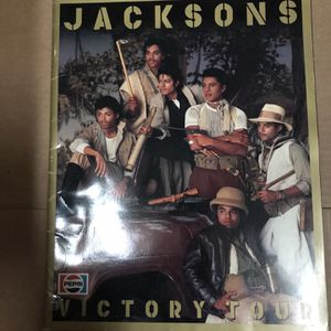 Jacksons Victory Tour Program for Sale in Seattle, WA