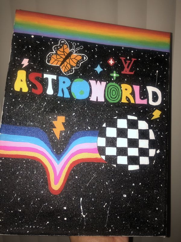 Astroworld Painting