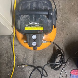 BOSTITCH AIR COMPRESSOR for Sale in West Valley City, UT