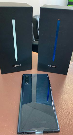 Samsung Galaxy Note 10 - 256Gb -Brand New In Box / Like New - Factory Unlocked Starting @ for Sale in Arlington, TX