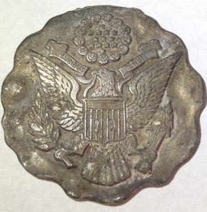 Rare 1800's Antique Police Badge- Highly Unusual Item- Interesting Design! for Sale in Herndon, VA