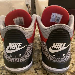 Nike Men's Air Jordan 3 Retro SE Unite Fire Red/Black Size 8.5 for Sale in Prospect Park, PA