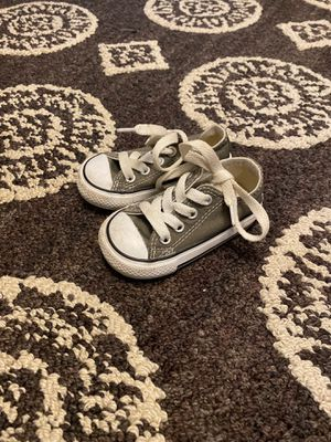 Converse baby shoe size 4 for Sale in East Providence, RI