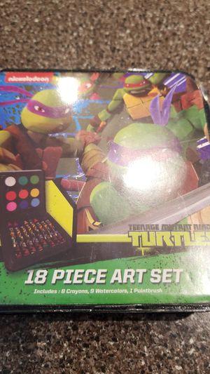 New in package ninja turtles art set for Sale in Glen Ellyn, IL