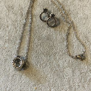 Necklace and Earrings for Sale in Haines City, FL