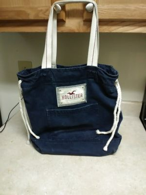 Hollister blue tote bag for Sale in Columbus, OH