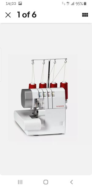 NEW-SINGER OVERLOCK SEWING MACHINE- Refinish for Sale in Los Angeles, CA